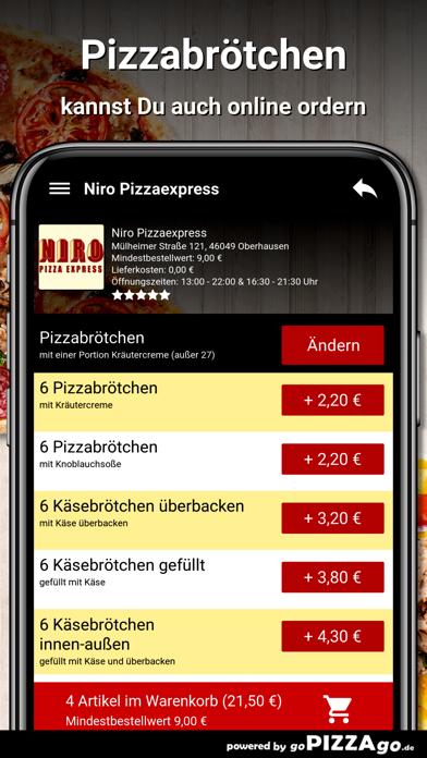 Niro Pizzaexpress Oberhausen screenshot 5