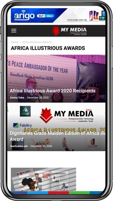 My Media AfricaScreenshot of 2
