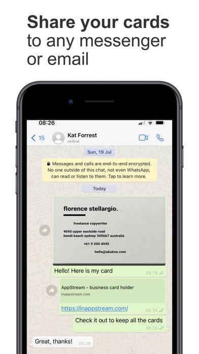 AppStream Card Gallery屏幕截图4