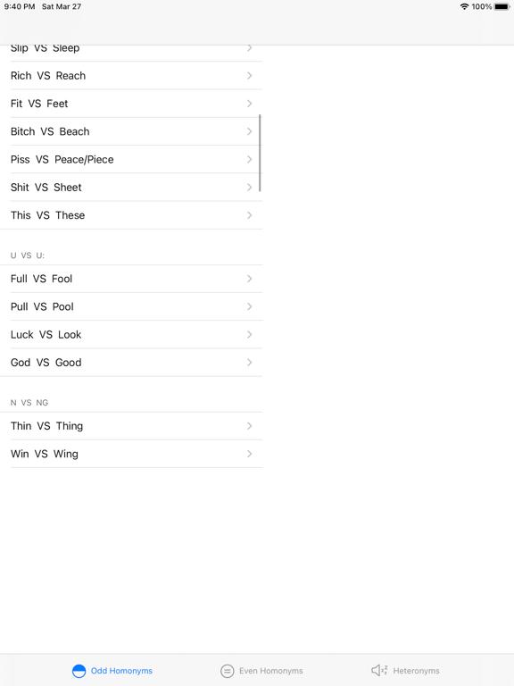 Pairs Pronounce screenshot 11