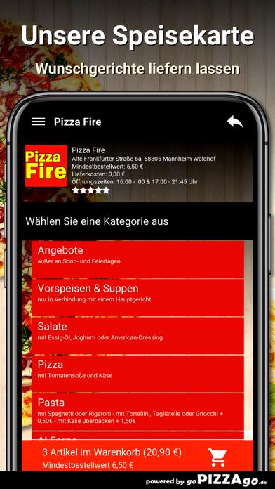 Pizza Fire Mannheim Waldhof screenshot 1