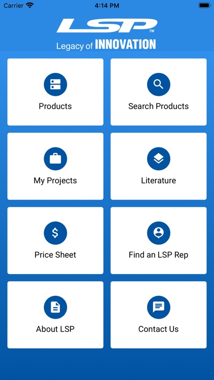 LSP Products Catalog