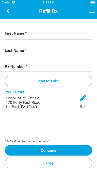 cancel ShopRite Pharmacy App subscription image 2