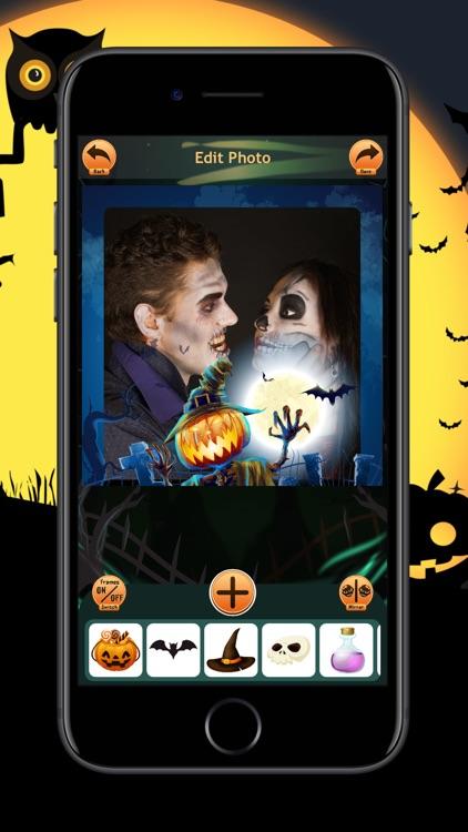 Halloween Photo Frames Trick screenshot-3