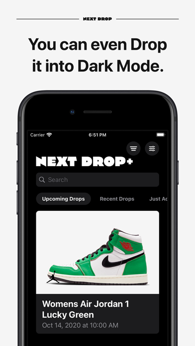 Next Drop – Don't Miss a Drop Screenshot