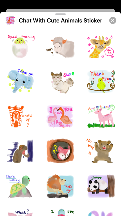 Chat With Cute Animals screenshot 2