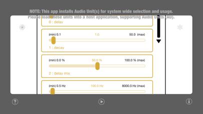 WU: AUDistortion screenshot 2