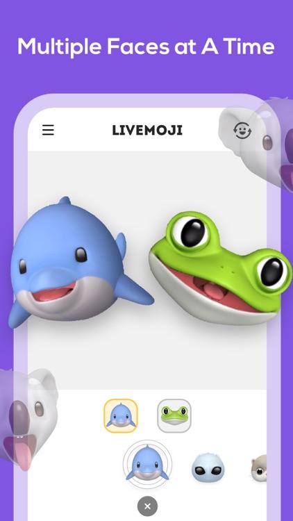 Livemoji-3D Face Emoji Games screenshot-3