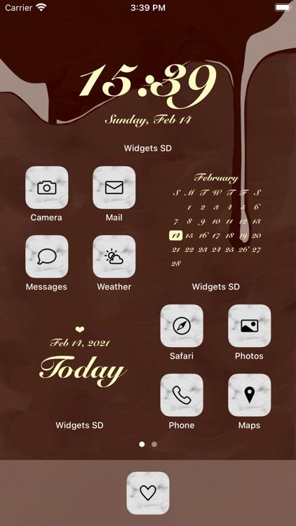 Widgets SD - Photo & Calendar screenshot-3