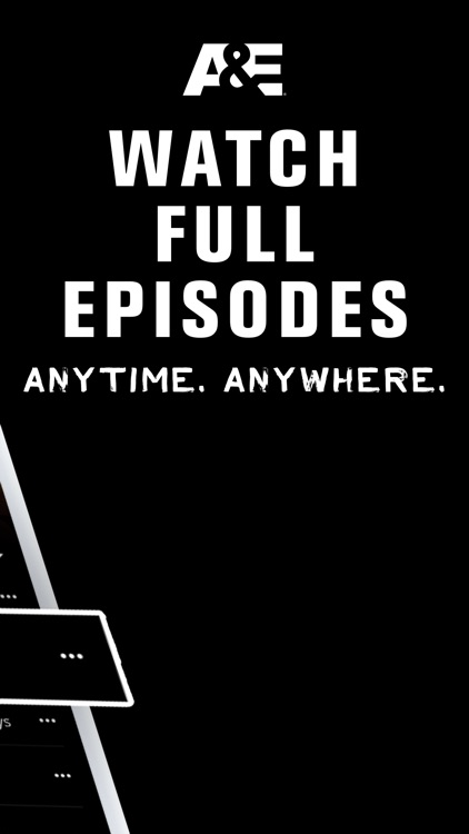 A&E - Your favorite TV Shows