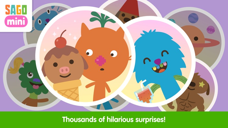 Sago Mini Super Juice Maker screenshot-4