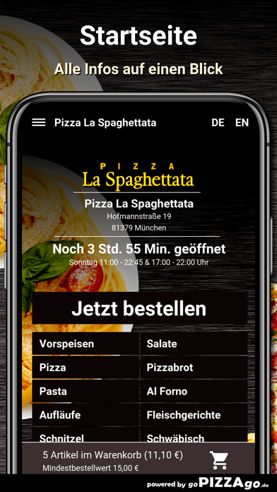 La Spaghettata München screenshot 2