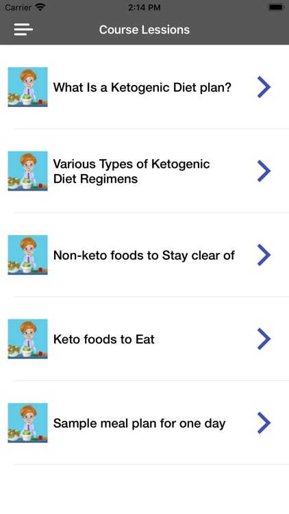 Keto Diet App Guide & Recipes screenshot-4