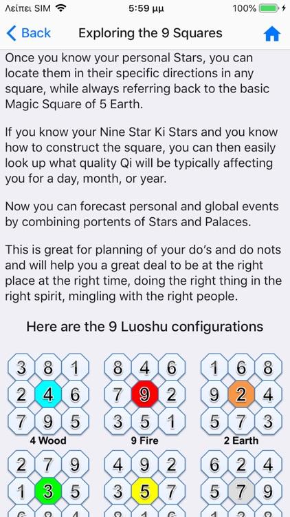 Nine Star Ki Astrology screenshot-7