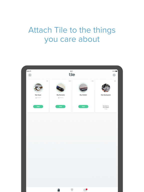 Tile - Find & track your lost phone, wallet, keys screenshot