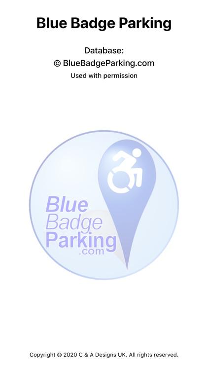 Blue Badge Parking screenshot-0