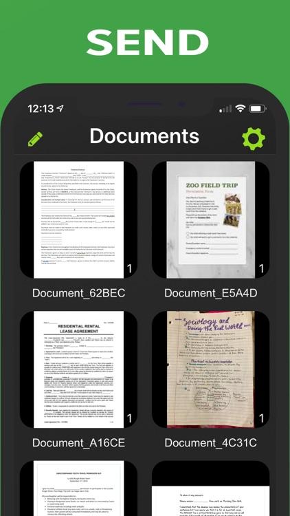 Camera Scanner - PDF screenshot-5
