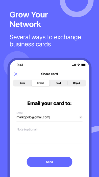 RAPID Business CardsScreenshot of 4