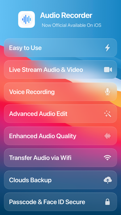 cancel Audio Recorder - Audio Editor app subscription image 1