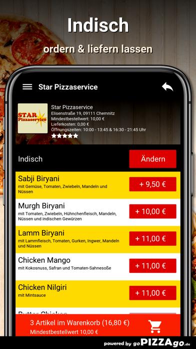 Star Pizzaservice Chemnitz screenshot 6