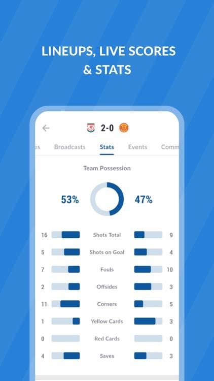 Live Soccer TV: Scores & Stats screenshot-5