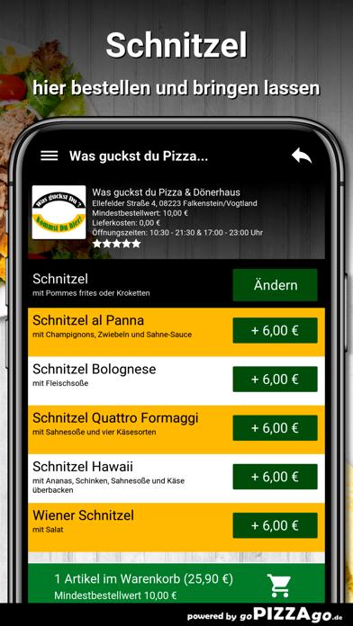 Was guckst du Pizza screenshot 5