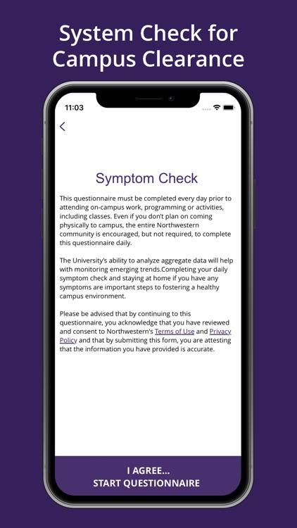Symptom Tracker: Northwestern