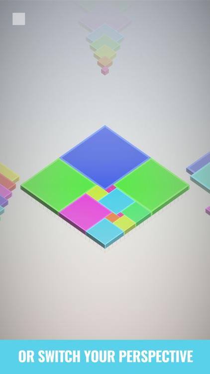 Isometric Squares - puzzle ² screenshot-3