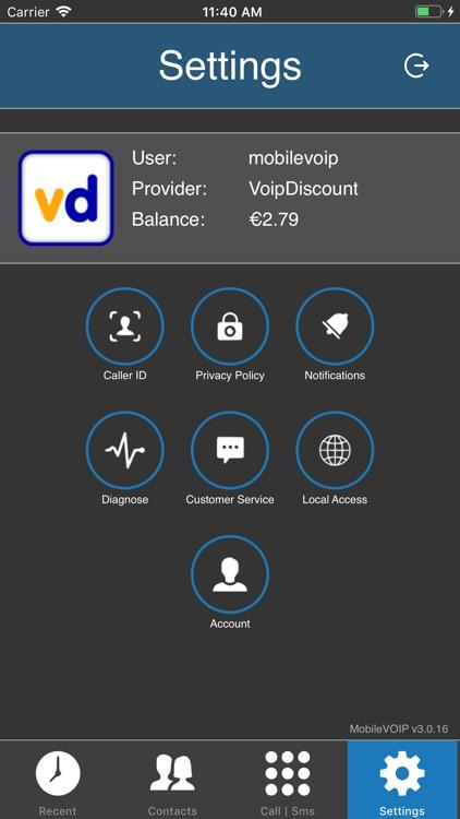 MobileVOIP - Cheap calls screenshot-4