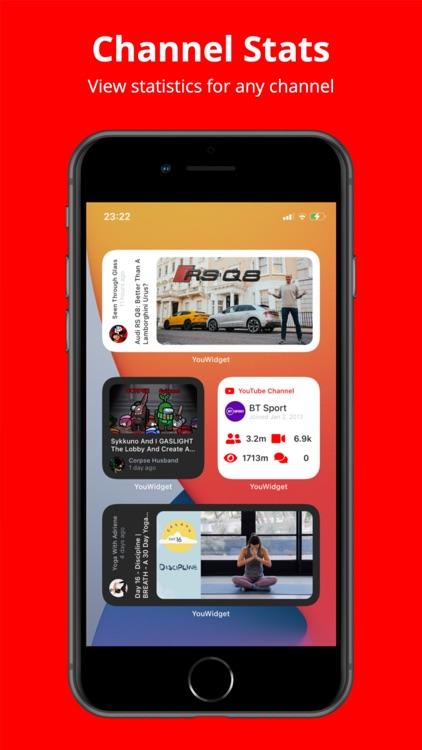 YouWidget - Widget for YouTube screenshot-3