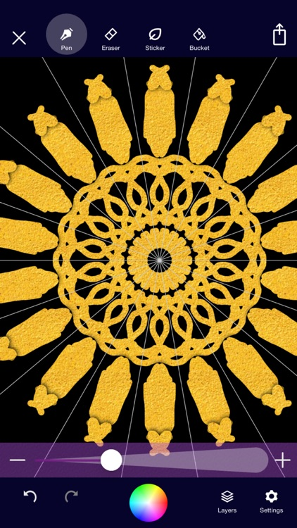 Mandala Maker: symmetry doodle screenshot-4