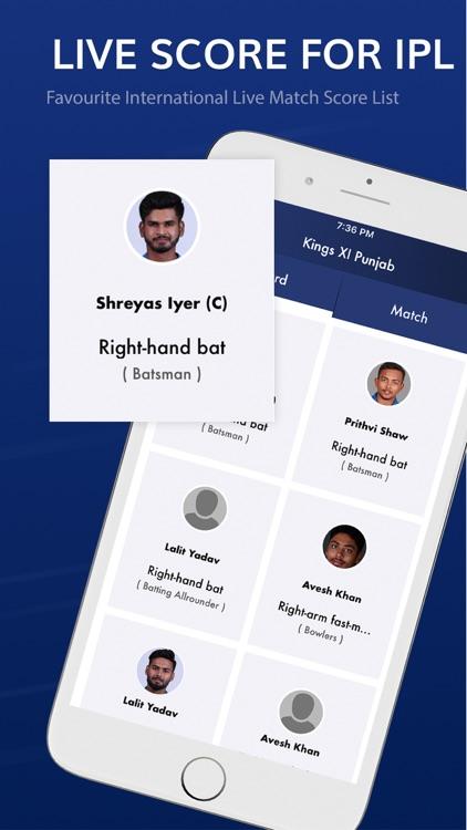 Live Score for IPL screenshot-3
