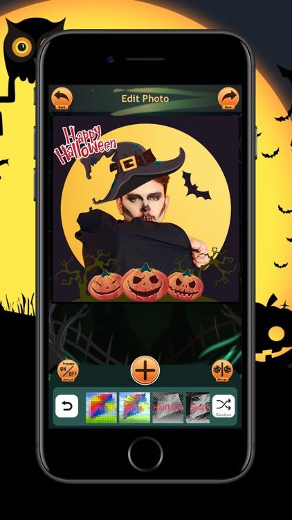 Halloween Photo Frames Trick screenshot-5