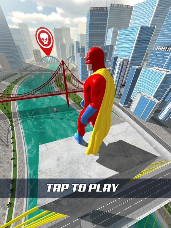 Super Hero Flying School! screenshot 6