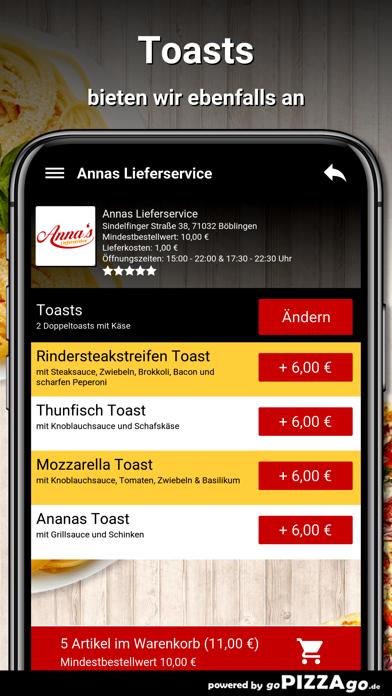 Annas Lieferservice Böblingen screenshot 6