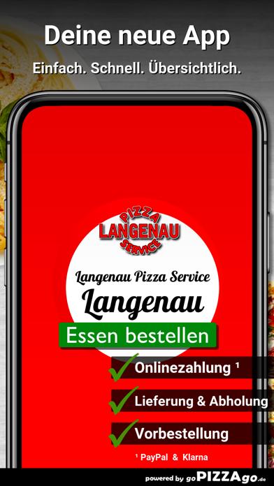 Langenau Pizza Service Langena screenshot 1
