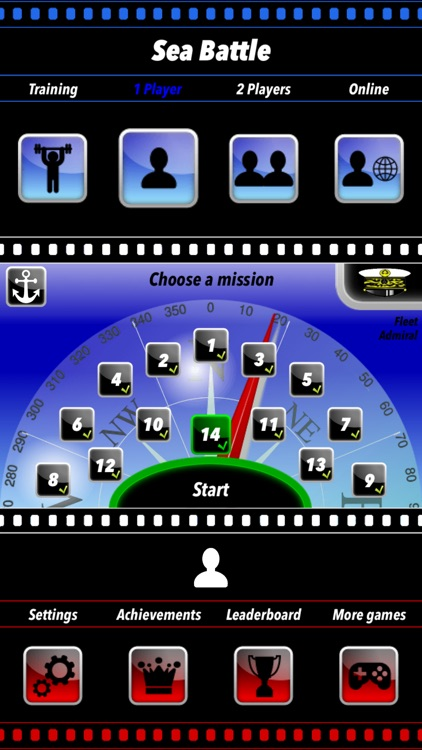 Sea Battle Board Game screenshot-3