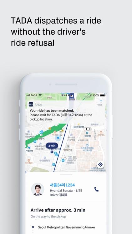 TADA - Quality Ride for All screenshot-4
