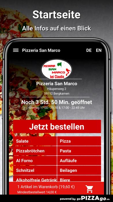 Pizzeria San Marco Bergkamen screenshot 2