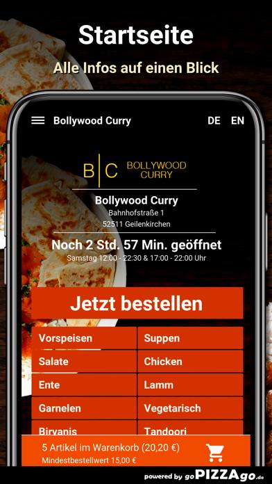Bollywood Curry Geilenkirchen screenshot 2