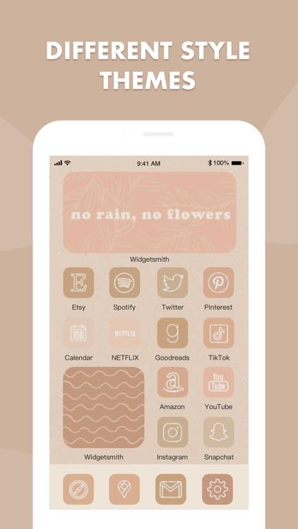 Home Screen Icon Theme Widget