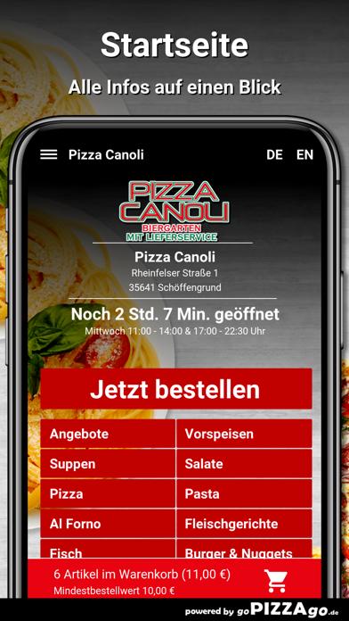 Pizza Canoli Schöffengrund screenshot 2