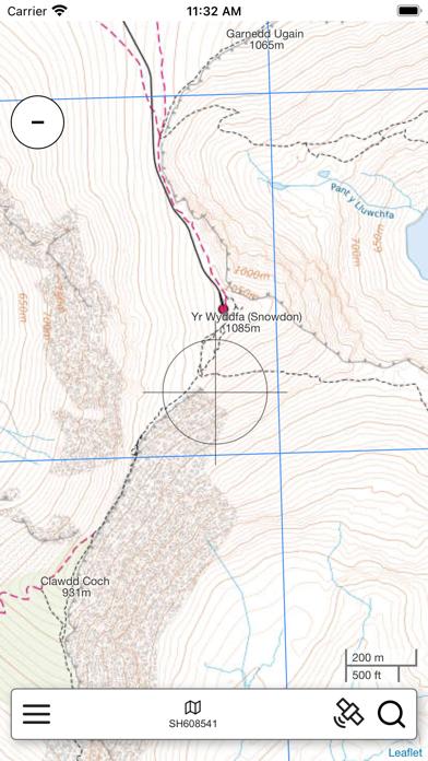 Snowdonia Outdoor Map Pro screenshot 1