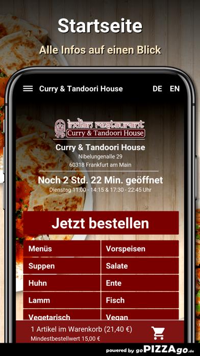 Curry&Tandoori House Frankfurt screenshot 2