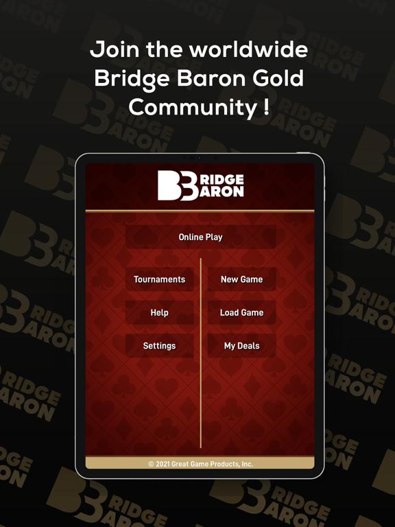 Bridge Baron Gold iPad app afbeelding 1