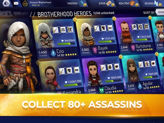 Assassin's Creed Rebellion iPad app afbeelding 1