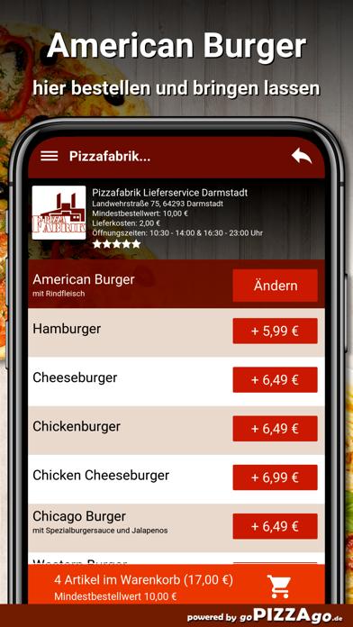Pizzafabrik Darmstadt screenshot 6