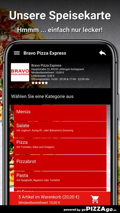 Bravo Pizza Express Jettingen screenshot 4