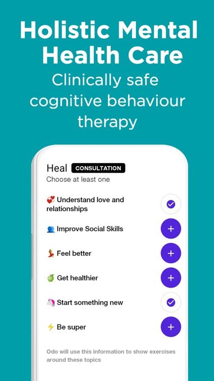 Odo: AI Friend for Self-Care screenshot-5