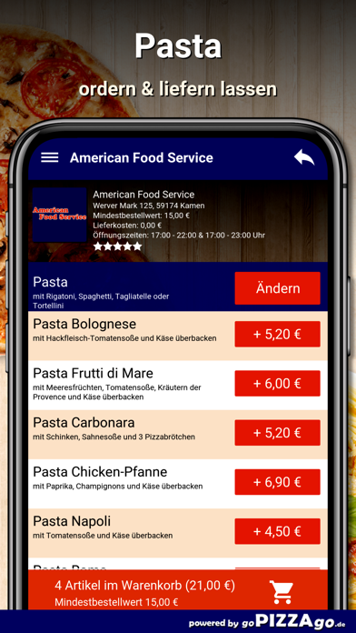 American Food Service Kamen screenshot 6